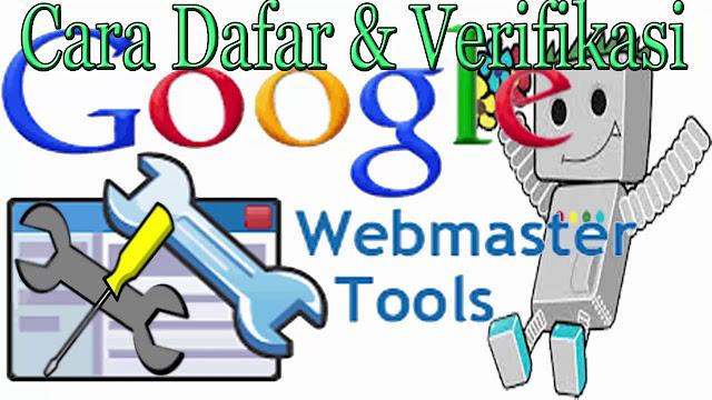Cara Mendaftar Dan Verifikasi Blog Ke Google Webmaster Tools / Google Search Console