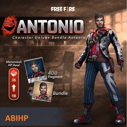 Kode redeem untuk mendapatkan Antonio Bundle.