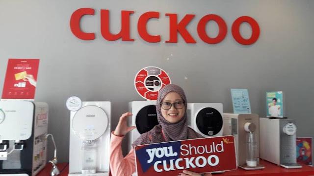 Kerjaya ku Di Cuckoo