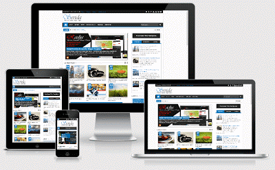 Savida Template Download v2.4.2 Responsive Magazine Blogger Template
