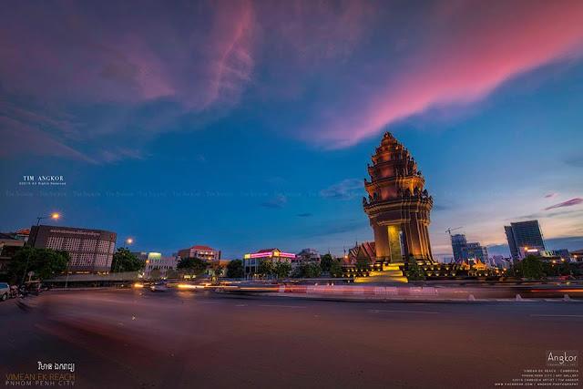 Phnom Penh selon Tim. Photographie par Tim Angkor (C)