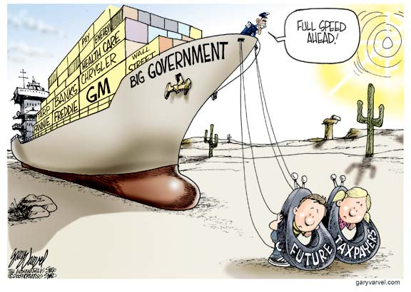 political cartoons good ugly
