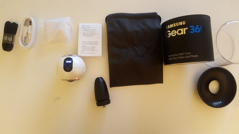 Spesifikasi dan Harga Kamera Samsung Gear 360