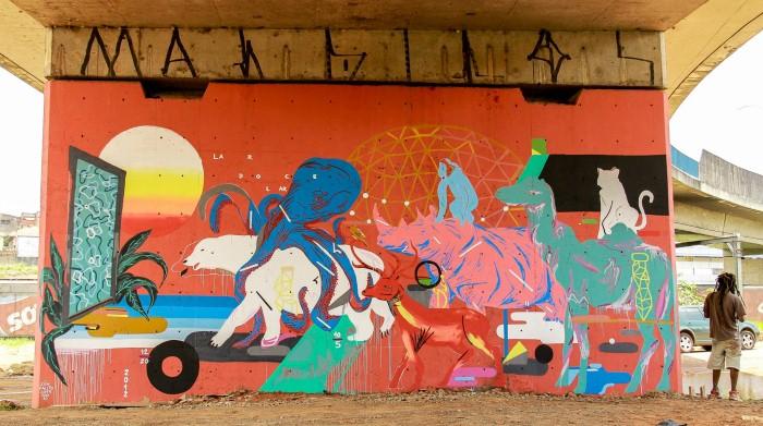 Уличный художник. Zeh Palito 13