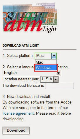 Adobe type manager deluxe windows 7 64 bit free download.