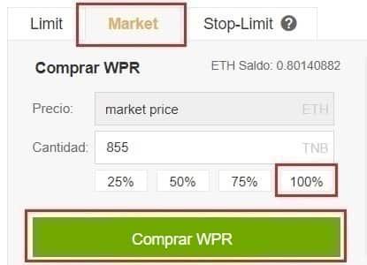 Comprar en Binance WePower Coin Cómo y Dónde Comprar WePower (WPR)