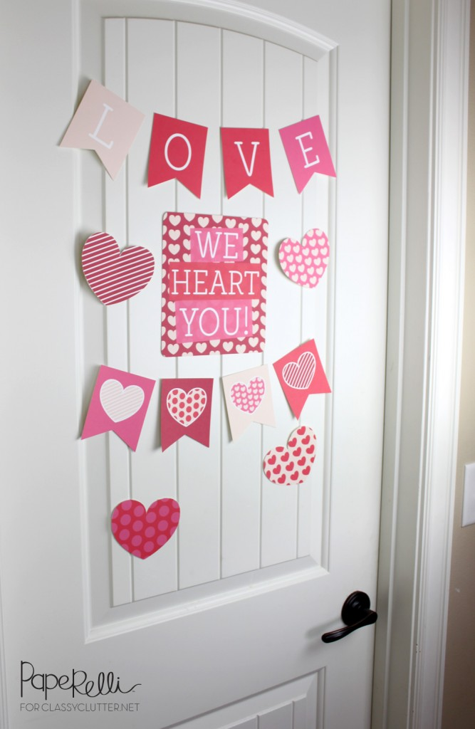 heart shaped diy decorations for valentine s day that are easy to make do it yourself ideas. Black Bedroom Furniture Sets. Home Design Ideas