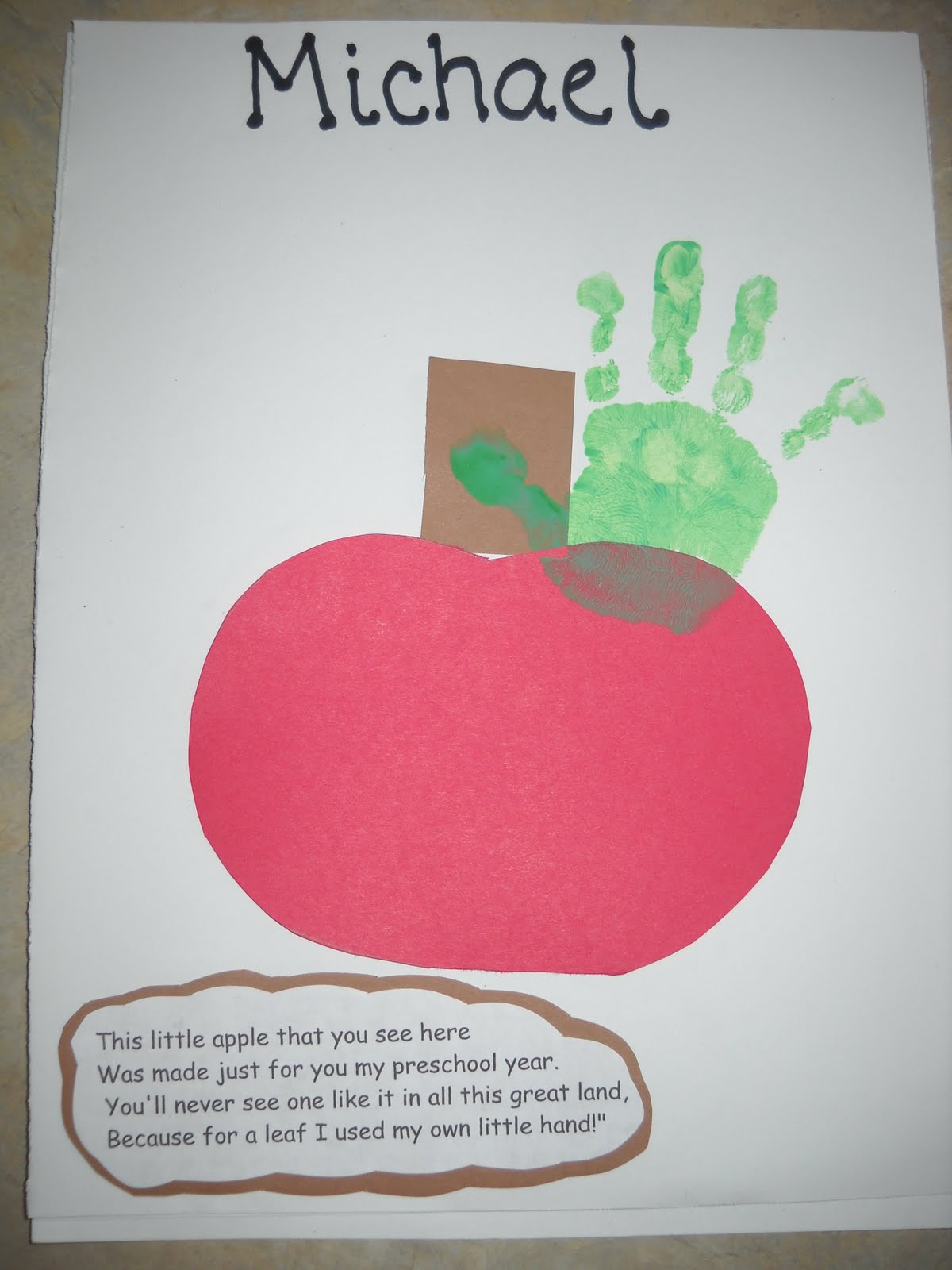 Apple Kids Crafts Apple Crafts For Kids Fall Kids Crafts Preschool Apples Crafts For