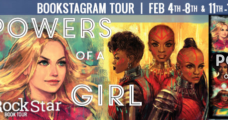 Tour Schedule: MARVEL POWERS OF A GIRL Bookstagram Tour by Lorraine Cink & Alice X. Zhang (Illustrations)