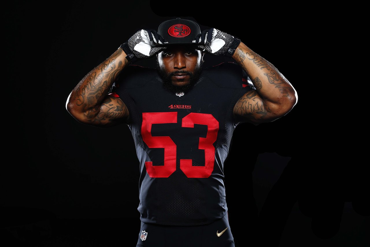 "49ers alternate uniforms - 49ers to wear new ""color rush"" alternate uniforms in 2017? Niners Wire"