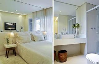 foto de espelhos decorativos