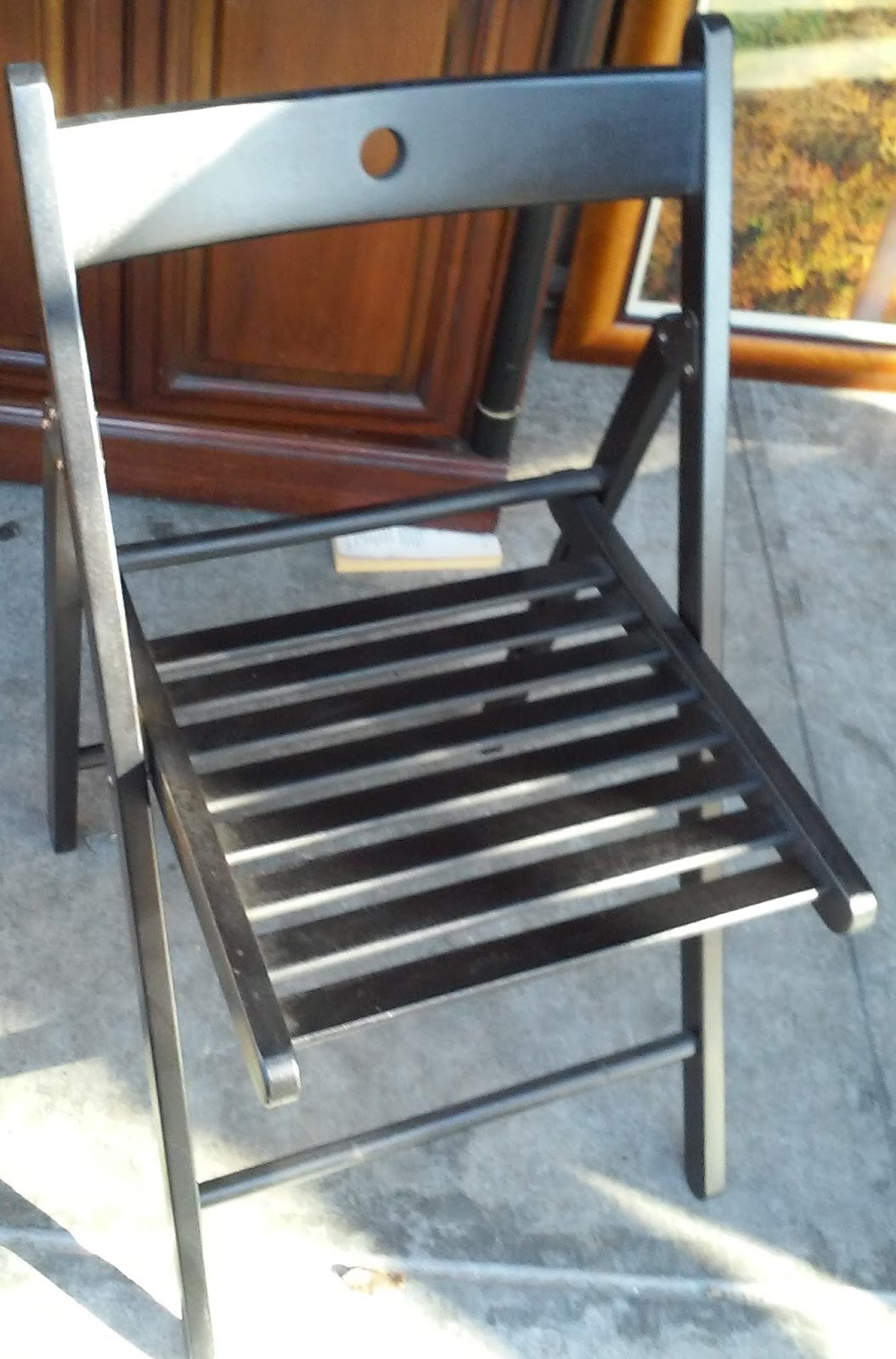 Modern Folding Chair Spotlight Covers Au Uhuru Furniture And Collectibles Sold Wood