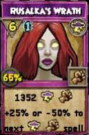 Wizard101 Polaris Level 108 Spells Rusalka's Wrath