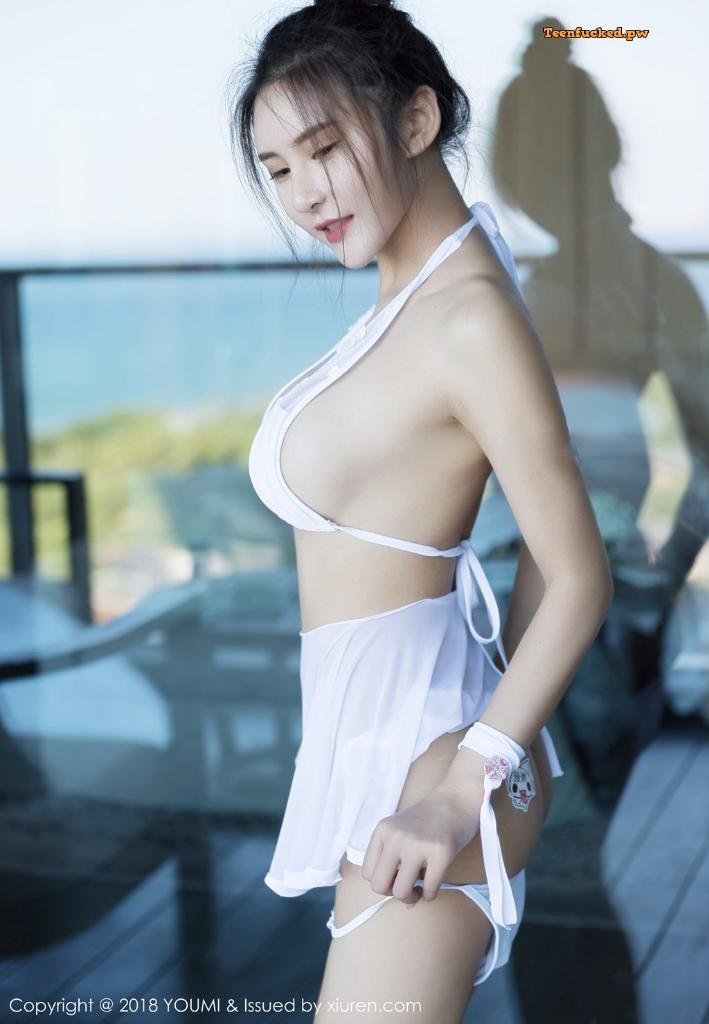 YouMi Vol.224 SOLO MrCong.com 039 wm - YouMi Vol.224: Người mẫu SOLO-尹菲