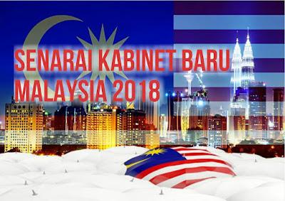 Senarai Menteri Kabinet Baru Malaysia 2018 Acuan Pakatan Harapan