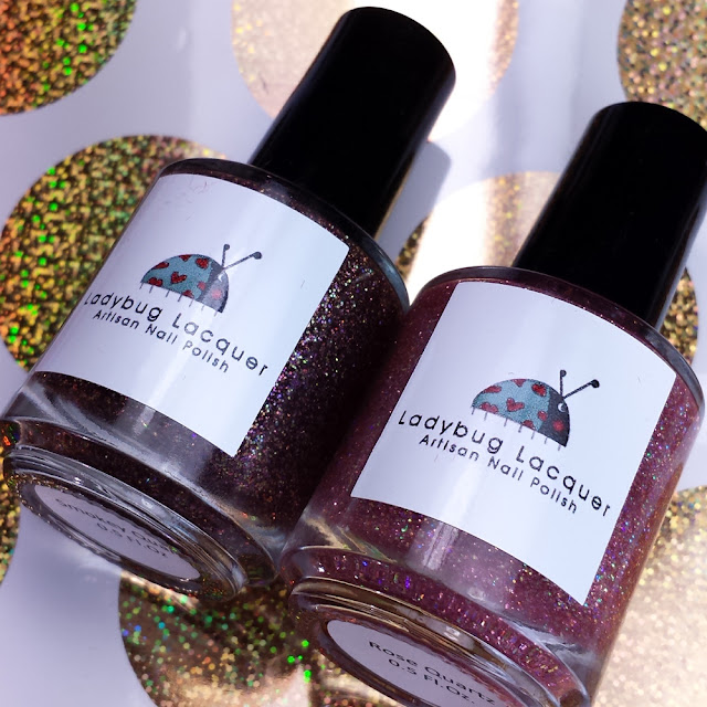 Lady Bug Lacquer Quartz Duo Swatches & Review