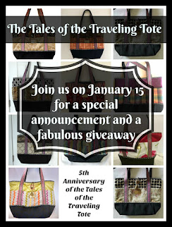 The Tales of the Traveling Tote #21  - Jan 15th