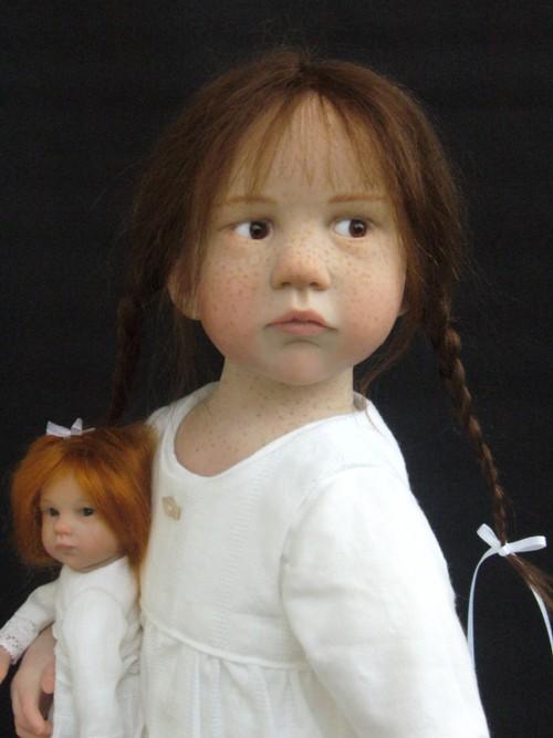 Bonecas que parecem crianças de verdade