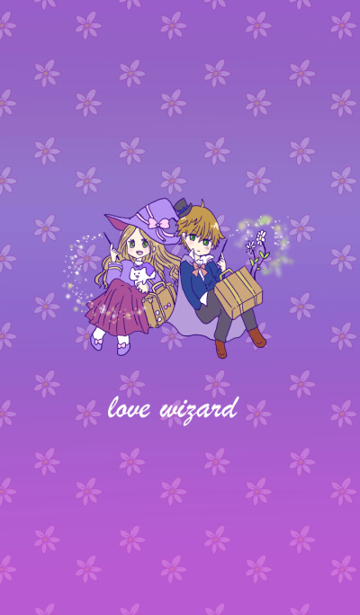 wizard girl and boy