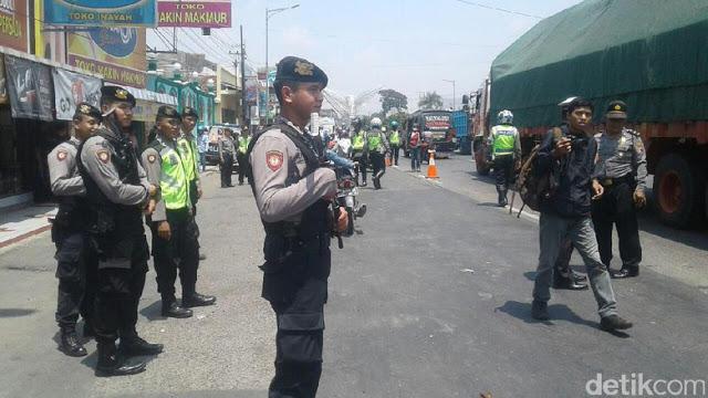 Meski Aksi Sudah Tidak di Depan Candi Borobudur, Polisi Kudus Tetap Cegah Massa Gabung Aksi Bela Rohingnya