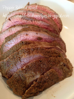 Pepper Rubbed Roast | Addicted to Recipes