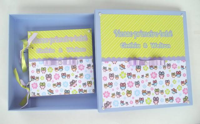 álbum de recordações para grávidas, unissex, scrapbook