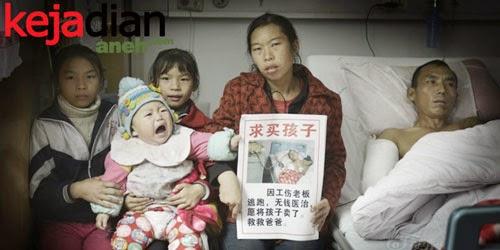 Seorang Ibu Menjual Bayinya Demi Selamatkan Suami