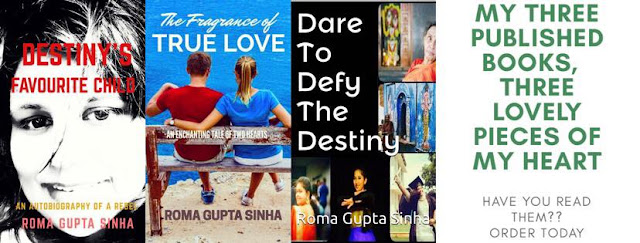 three books of roma gupta sinha