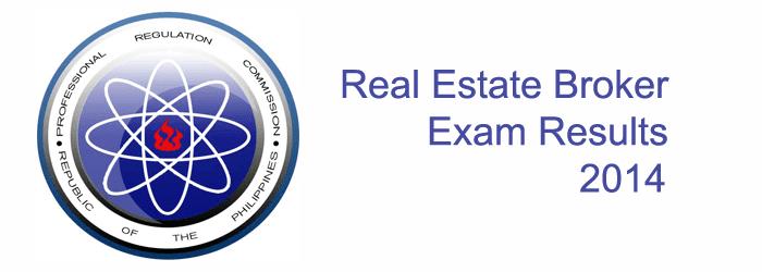 Real Estate Broker Exam Results