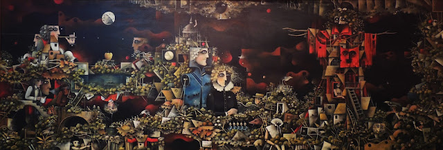 Eduard Alcoy cuadro surrealista óleo lienzo