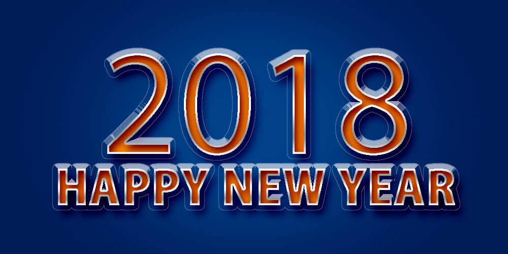 Happy New Year 2018 HD Pictures