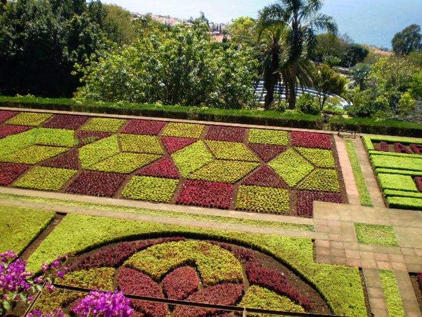 Jardim Botânico Carros de cesto Ilha da Madeira - Funchal (Portugal)