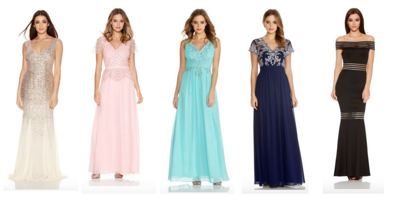 Top 5 Prom Dresses From Quiz Clothing