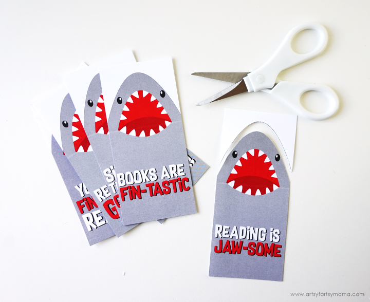 Dive into Shark Week with these Jawsome Free Printable Shark Bookmarks!