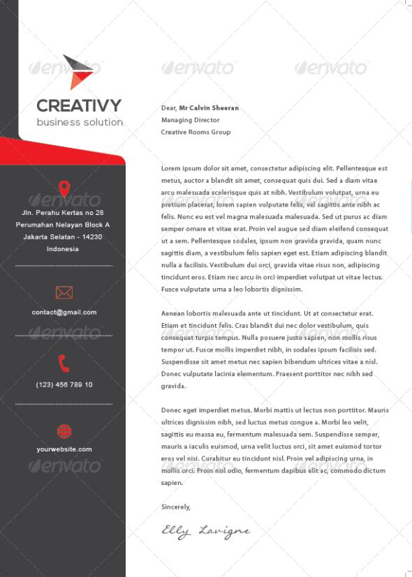 Corporate Letterhead Template 15 Free Letterhead Templates - corporate letterhead template