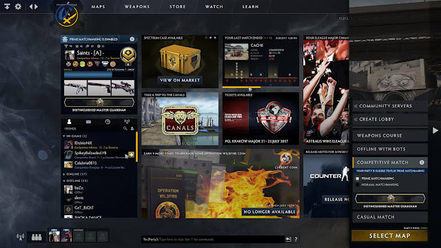 Nowy interfejs CS:GO, Panorama UI