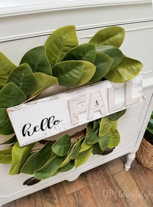 cottage fall decor