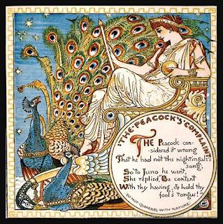 Hera y el pavo real