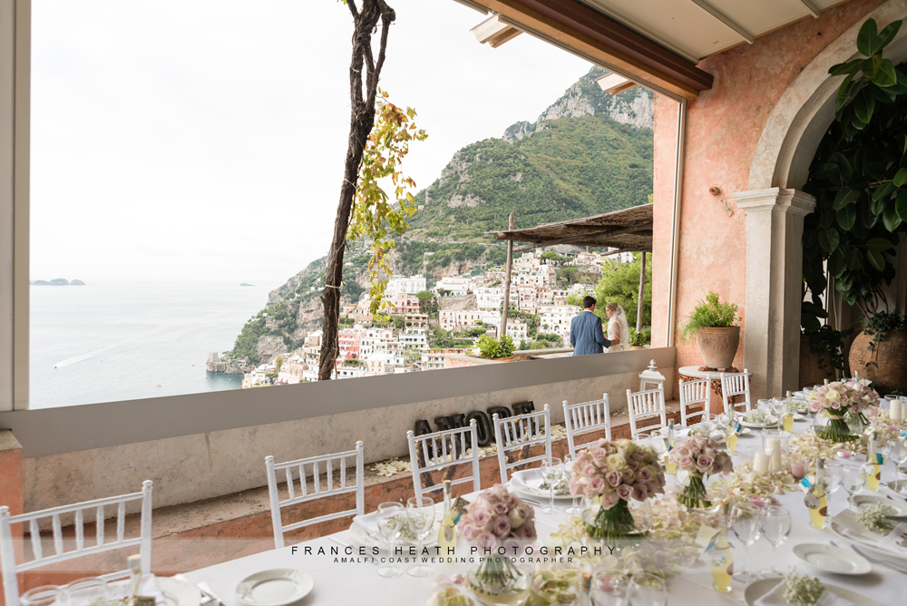 Positano wedding