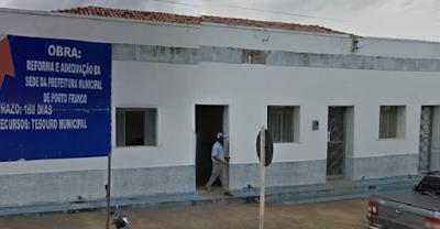 Prefeitura de Porto Franco. Foto: Google Street View