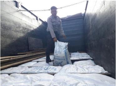 Aksi penyelundupan 30 Sak Gula dan 280 Slop Rokok Ilegal ke Banda Aceh digagalkan Polres Sabang