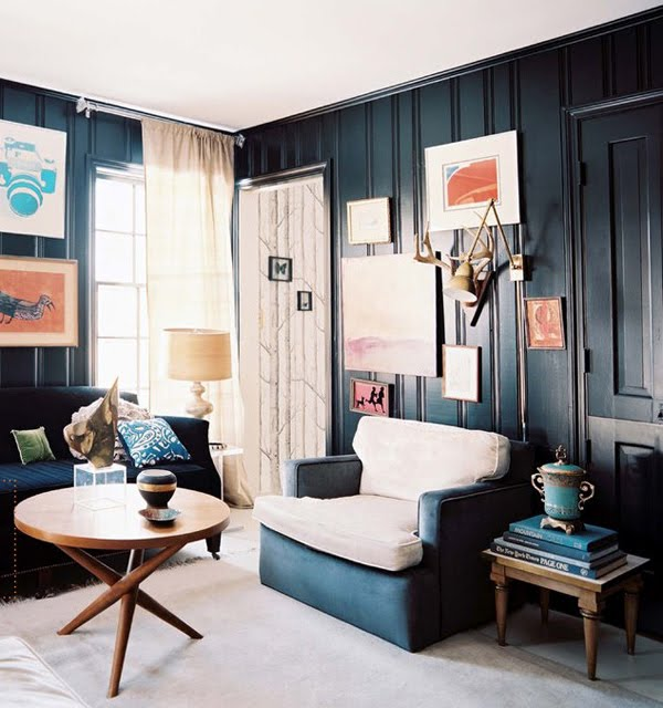 Home Interior and Exterior Design: BLACK WALL INTERIORS ...