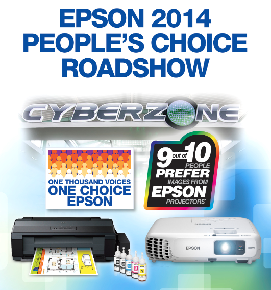 Epson 2014 People's Choice Roadshow
