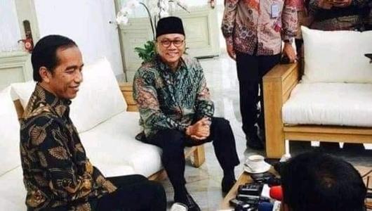 Jokowi-Zulkifli Berbincang di Istana, Bara Hasibuan Bicara soal Reposisi