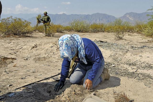Hallan cementerio clandestino con 3,000 fragmentos óseos en Coahuila