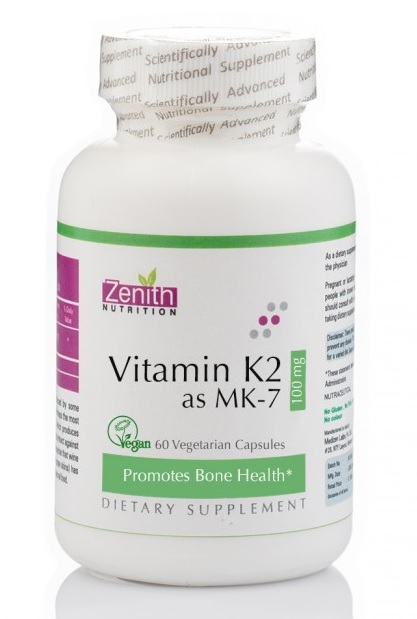 Zenith Nutrition Vitamin K2 as MK7 Review