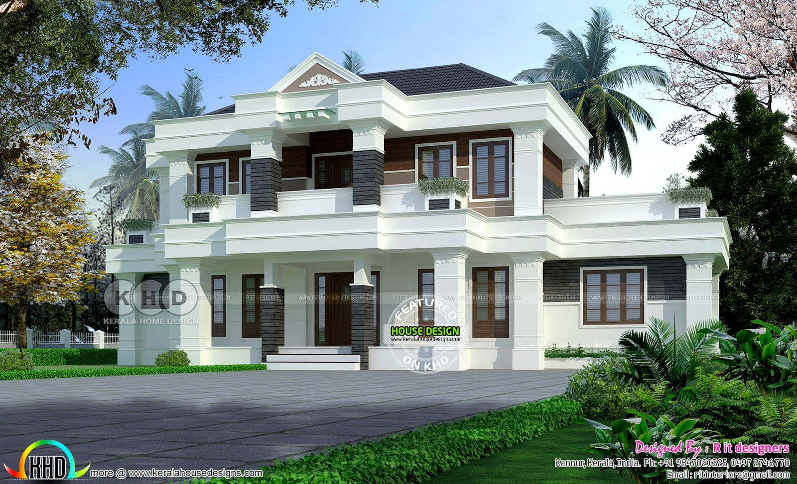 Modern Colonial mix house ₹65 lakhs - Kerala home design ...