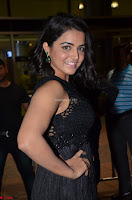 Wamiqa Gabbi in a sleeveless Black Designer Transparent Gown at 64th Jio Filmfare Awards South ~  Exclusive 076.JPG