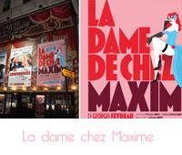 La dame chez Maxime