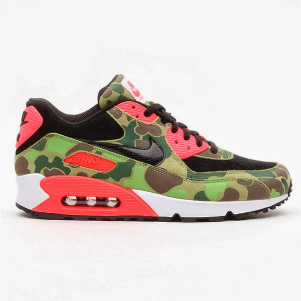 on sale 65d6f d9553 Nike Air Max 90 Premium Duck Infra Camo  atmos Exclusive
